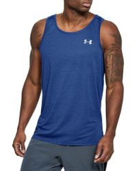 Under Armour - Athletic Tank - Lyst