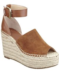 Marc Fisher - Adalyn Peep-toe Espadrilles - Lyst