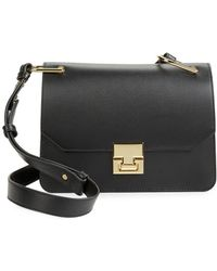 Ivanka Trump - Hopewell Leather Shoulder Bag - Lyst