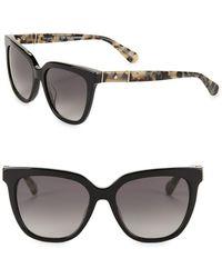 Kate Spade - 53mm Kahli Square Sunglasses - Lyst