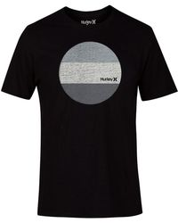 Hurley - Circular Graphic-print T-shirt - Lyst