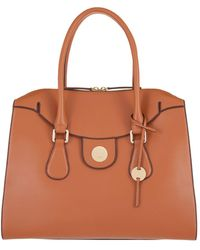 Lodis - Rodeo Rfid Gwyneth Zip Top Leather Tote - Lyst