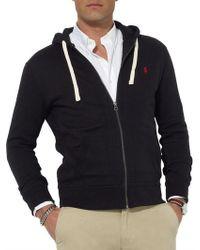 Polo Ralph Lauren   Full-zip Fleece Hoodie   Lyst