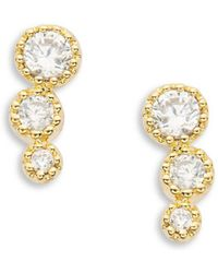 Tai - Stone Stud Earrings - Lyst