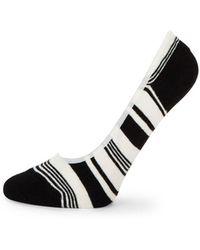 Kate Spade - Mixed-stripe Liner Socks - Lyst