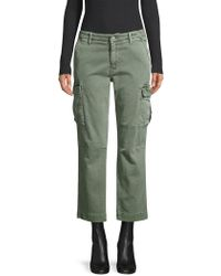 0fb12a78773 Joe's Jeans Jane Military Colors Skinny Ankle Cargo Jean in Natural - Lyst