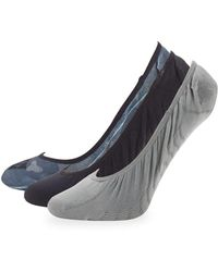 Sperry Top-Sider - Three-pack Micro Liner Socks - Lyst