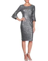 Alex Evenings - Plus Sequin Embellished Shift Dress - Lyst