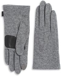 Echo - Basic Textured Gloves - Lyst