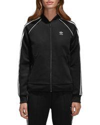 adidas - Adicolor Three-stripe Track Jacket - Lyst