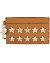 Zac Zac Posen - Star Leather Card Case - Lyst