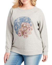 Jessica Simpson - Kera Shooting Star Sweatshirt - Lyst
