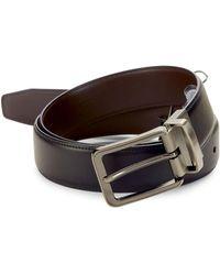 Perry Ellis - Anna Reversible Leather Belt - Lyst