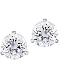 Swarovski - Solitaire Crystal Stud Earrings - Lyst