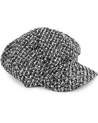 Parkhurst - Textured Newsboy Cap - Lyst