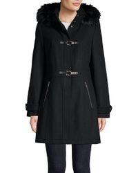Ivanka Trump - Faux Fur-trimmed Jacket - Lyst