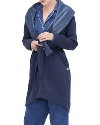UGG - Blanche Shawl Collar Robe - Lyst