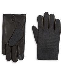 Calvin Klein - Brushed Gloves - Lyst