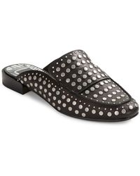 Dolce Vita - Maura Leather Flat Mules - Lyst