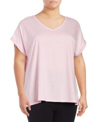 Lord & Taylor - Plus Boxy T-shirt - Lyst