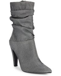 a9352d699a6 Lyst - Cole Haan Womens Darla Suede Fashion Over-the-knee Boots in Gray