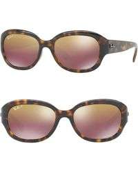 Ray-Ban - 50.8mm Rounded Sunglasses - Lyst