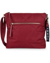 Tommy Hilfiger - Quilted Crossbody Bag - Lyst