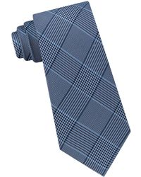 Michael Kors - Silk Classic Glen Check Tie - Lyst
