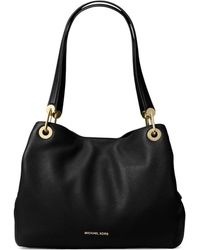 MICHAEL Michael Kors - Raven Pebbled Leather Tote - Lyst