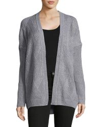 Jones New York - Long Raglan Sleeve Cardigan - Lyst