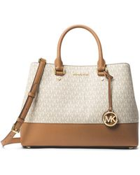 10dbc0664b65 Lyst - Michael Michael Kors Jet Set Travel Medium Saffiano Leather ...