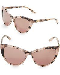 B Brian Atwood - 56mm Cats Eye Sunglasses - Lyst