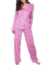 Munki Munki - Mommy & Me Pyjamas Women's Minnie Mouse Pyjamas Set - Lyst