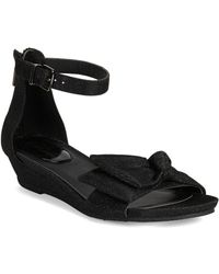 Kenneth Cole Reaction - Great Start Metallic Wedge Sandals - Lyst