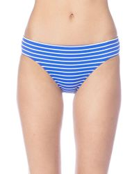 Lauren by Ralph Lauren - Striped Hipster Bikini Bottom - Lyst