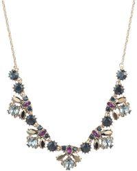 Marchesa - Swarovski Crystal Statement Necklace - Lyst