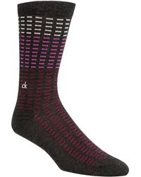 Calvin Klein - Tile-print Casual Socks - Lyst