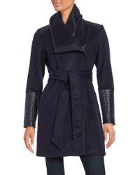 Belle By Badgley Mischka - Lorian Wool-blend Jacket - Lyst
