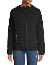 MICHAEL Michael Kors - Quilted Zip Front Jacket - Lyst