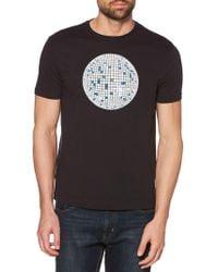 Original Penguin - Disco Pete Glow-in-the-dark Graphic T-shirt - Lyst