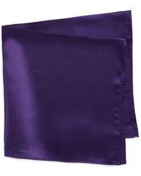 Lord & Taylor - Silk Pocket Square - Lyst