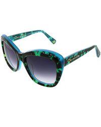 Oscar de la Renta - 54mm Swarovski-adorned 54mm Rectangle Sunglasses - Lyst
