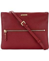 Gigi New York - Leather Zip Crossbody Bag - Lyst