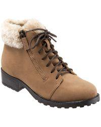 Trotters - Below Zero Faux Fur-lined Ankle Boots - Lyst