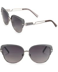 Vince Camuto - 63mm Cat Eye Sunglasses - Lyst