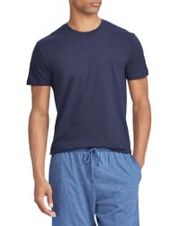 823f5940b Polo Ralph Lauren 3-pack Classic-fit Crewneck Cotton Tees in Gray ...
