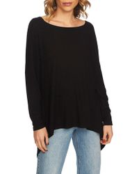 1.STATE - Ribbed Tunic Top - Lyst