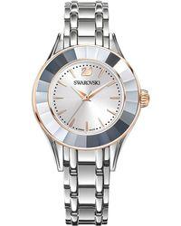 Swarovski - Alegria Crystal-bezel Stainless Steel Bracelet Watch - Lyst