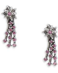Marc By Marc Jacobs - Crystal-embellished Earrings - Lyst