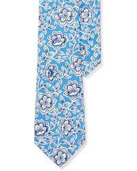 Lauren by Ralph Lauren - Floral Silk Tie - Lyst